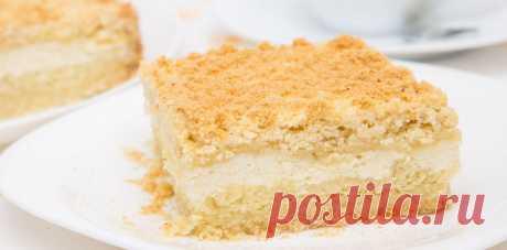 Насыпной творожный пирог | Вкусно и красиво с Натальей Балдук.