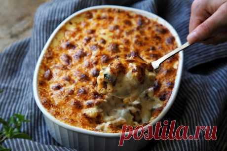 Запеканка из фарша с макаронами и сыром | | Кулинарные рецепты