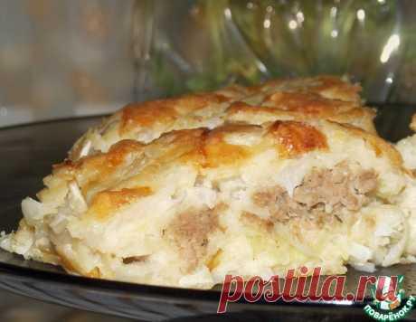 """Пирог капустный """"О-ля-ля"""" – кулинарный рецепт"""
