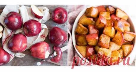 Лучший осенний десерт за 10 минут – жареные на сковороде яблоки в медово-коричном соусе - Odnaminyta - медиаплатформа МирТесен