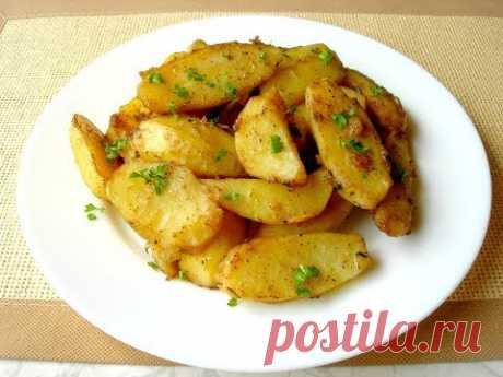 Румяная картошечка в Духовке, Удачный рецепт для Вкусного Обеда или Ужина - YouTube