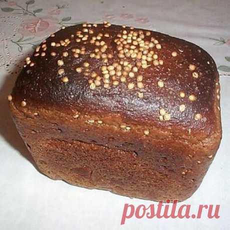 """Тесто для """"Бородинского"""" хлеба"""