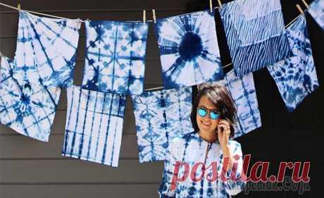 Сибори — древнее японское искусство Сегодня мы покажем вам нечто удивительное. Сибори — японская техника окрашивания ткани с помощью заматывания, прошивания, складывания, или сжатия.Для создания рисунков в технике сибори используются ка...