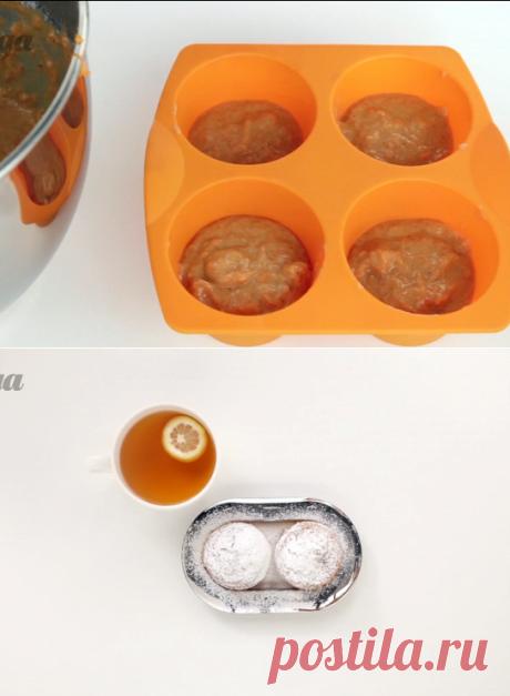 Морковные кексы с имбирем и корицей пошаговый рецепт с видео и фото