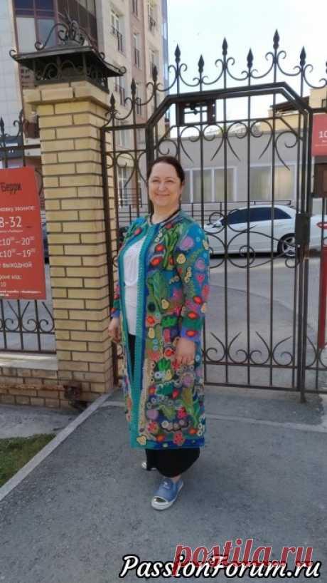 """Летнее пальто """"морское дно"""" - запись пользователя Olga202202 в сообществе Вязание крючком в категории Вязание крючком. Ваши работы"""