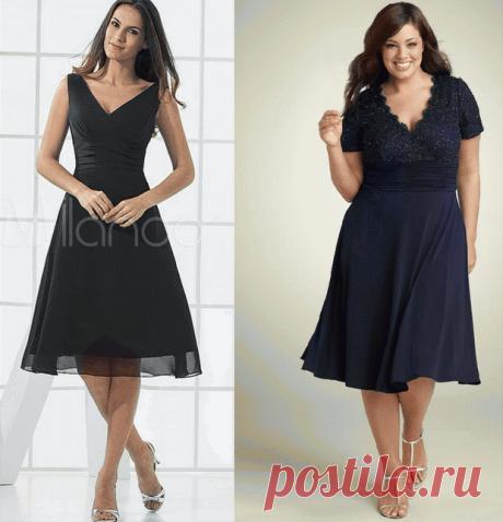 Выкройка очаровательного платья