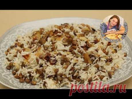 Маджадра, (Mujadrah), это ближневосточное блюдо, из серии постные рецепты, очень популярно на ближнем востоке.рецепт маджадры, на самом деле очень прост в ис...