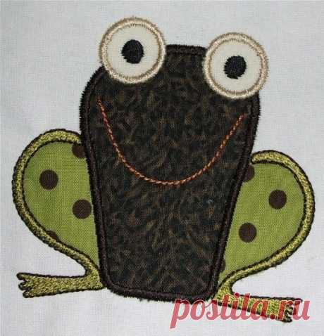 INSTANT DOWNLOAD Frog Applique Designs This listing is for a whimsical frog machine embroidery applique design.  Made in 2 sizes to fit the 4x4 and the 5x7 hoop.    4 x 4 hoop, H= 3.76 W= 3.73  5 x 7 hoop, H= 4.93  W= 4.85  Color chart included    ***THIS IS NOT AN IRON ON PATCH OR A FINISHED ITEM***  Appropriate hardware and software is needed to transfer these designs to an embroidery machine.    You will receive the following formats: ART - DST - EXP - HUS - JEF - PCS -...
