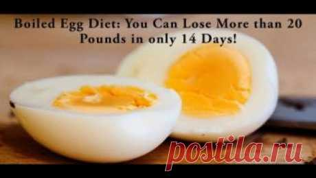The Boiled Egg Diet – Lose 20 Pounds In Just 2 Weeks - cleannaturalmedicine.com Nowadays, the boiled egg diet is becoming extremely popular since it has helped numerous people worldwide to lose 24 pounds in only 14 days. Because of the fact that obesity is one of the major health issues that people face, in today's article we have provided a diet which will help you to lose weight. …