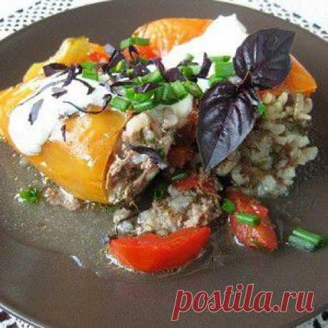 Толма летняя (Фаршированные овощи) рецепт – основные блюда