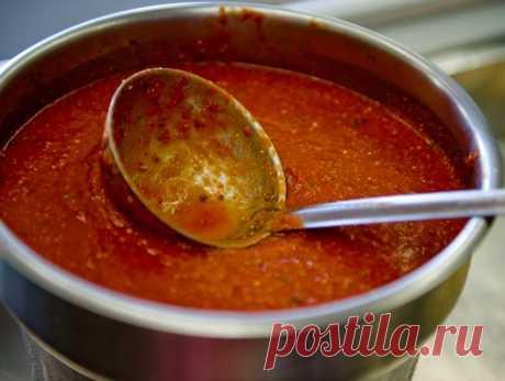 Соус «Маринара». Легко готовить, невозможно испортить Новый вариант старинного рецепта итальянского соуса