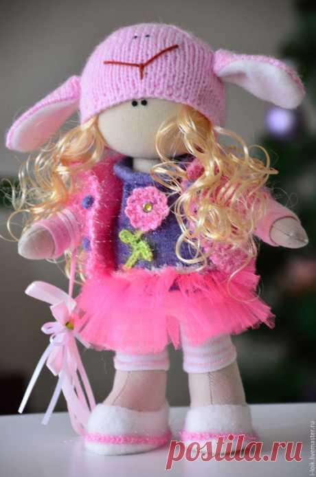 Шьем текстильную куколку: мастер-класс с выкройкой — DIYIdeas