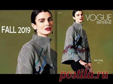Vogue Patterns Katalog 2019 ПЛАТЬЯ ОТ ДИЗАЙНЕРА   Дизайнерские платья - от кутюр