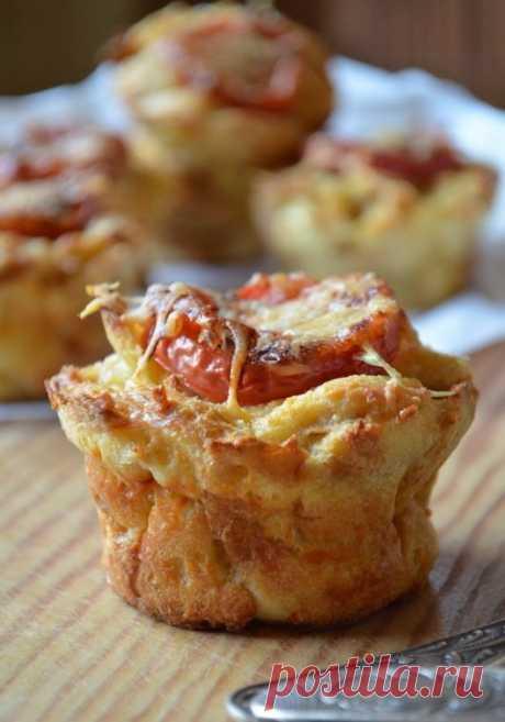 Сырные маффины из черствого хлеба — Sloosh – кулинарные рецепты