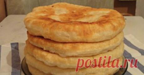 Пышные лепешки на кефире: быстрый рецепт необычной вкуснятины! Подаю вместо хлеба! Долго искала этот рецепт!