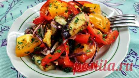 Салат к шашлыку готовлю только так   Матрёшка с поварёшкой   Яндекс Дзен