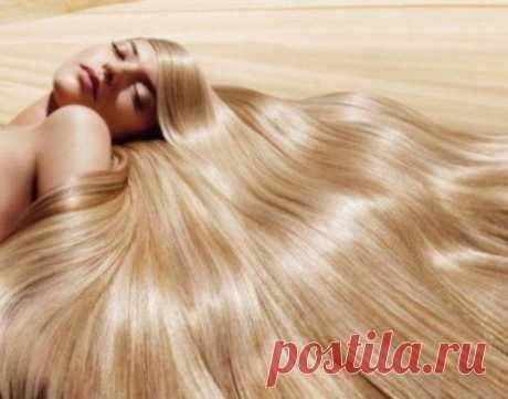 Отвар для блеска и силы волос