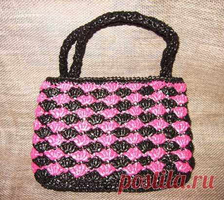 Пляжные сумки из полипропилена вяжем крючком – 9 схем с подробным описанием, выкройками и МК видео