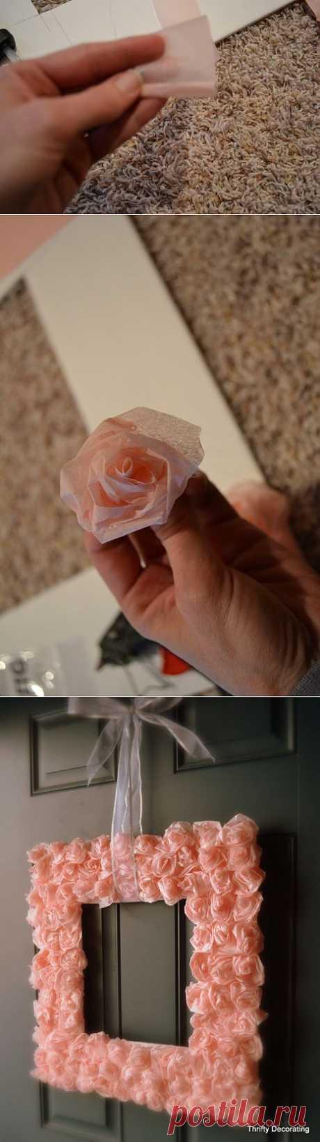 Мастер-класс. Очень нежные работы с розами из папиросной бумаги. | Хвастуны и хвастушки