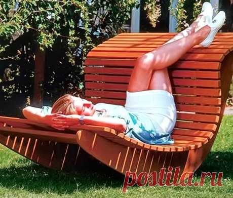 Садовое кресло-качалка своими руками — Сделай сам, идеи для творчества - DIY Ideas