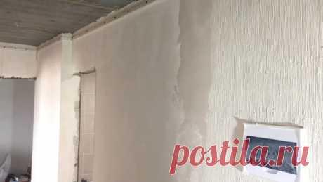 Отделка стен под мешковину | Наши дома