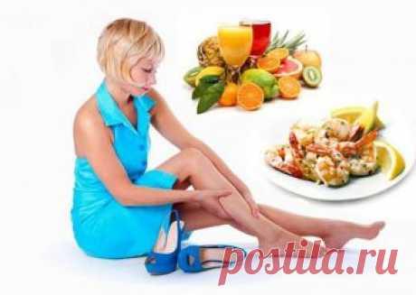 Диета при отеках ног: правильное питание, продукты