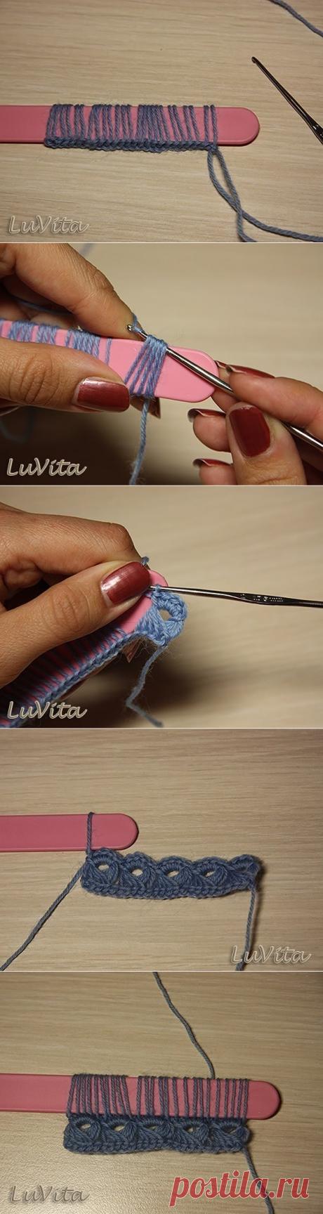 Чудесный узор — перуанское вязание «Брумстик»