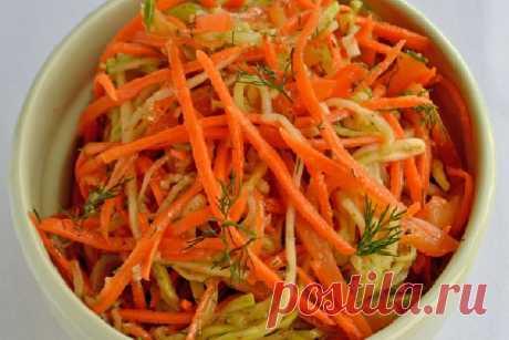 Кабачки с морковью по-корейски — СОВЕТНИК