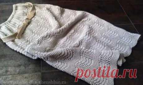 Юбки спицами Вязаные юбки спицами 19 схем и описаний вязания для женщин бесплатно