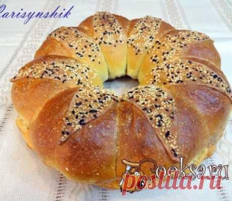 """Хлеб """"Жемчужная корона"""" фото рецепт приготовления"""