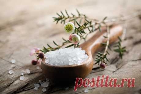 9 полезных рецептов на основе соли.