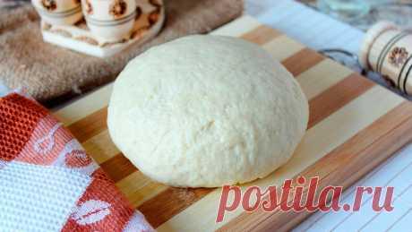 Идеальное тесто!Тесто как пух для пирогов! | KuhnyaSad | Яндекс Дзен