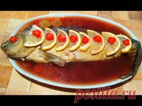 Фаршированная рыба ( гефильте фиш) -самый подробный ,  традиционный рецепт