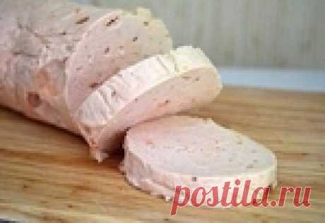 Диетическая куриная варёная колбаса. Готовим дома сами