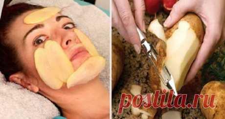 Один сырой картофель может удалить пятна и даст вам прекрасную безупречную кожу всего за несколько минут, вот как ее использовать - Советы для женщин