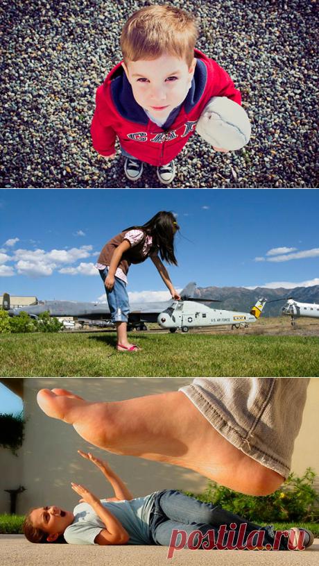 Что такое ракурс в фотографии: чем отличается от точки съемки