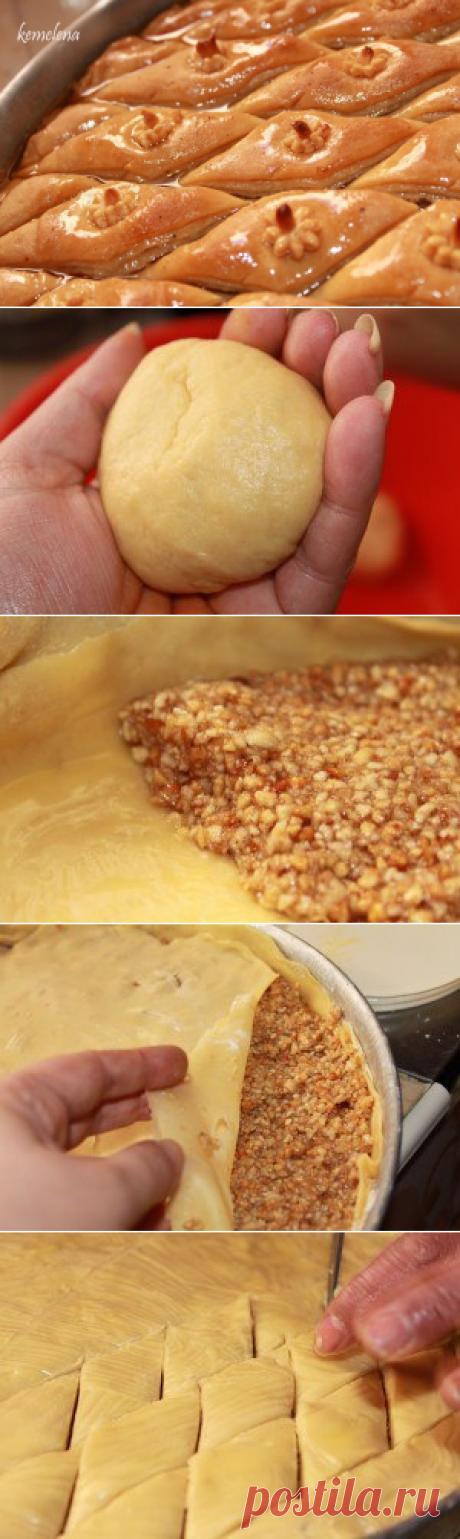 Пахлава алжирская: домашний рецепт — Вкусные рецепты