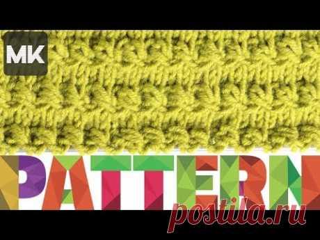 ОБЪЕМНЫЙ ГОРИЗОНТАЛЬНЫЙ УЗОР / Подробный обзор по вязанию узора спицами / Knit pattern lesson