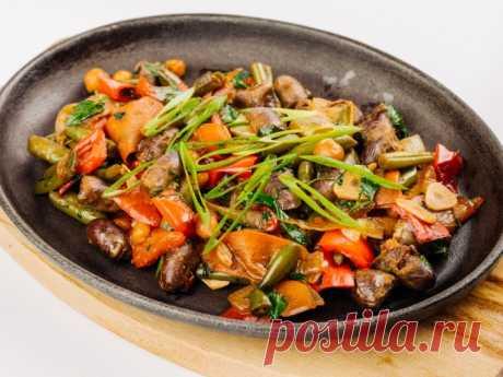 Гуляш из субпродуктов — Sloosh – кулинарные рецепты