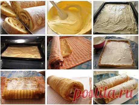 ¡La receta más acertada del panecillo! ¡porobuyte, no lamentaréis! Para el panecillo hago regular de bizcocho testo...