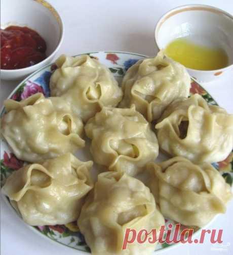 Вкусное,сочное,ароматное блюдо-манты по- узбекски