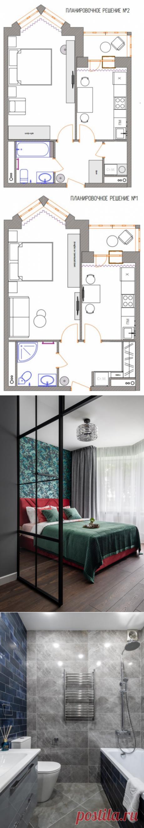 Планировка квартиры 38 кв м с кухней 8,5 кв м – 2 варианта с фото | Houzz Россия