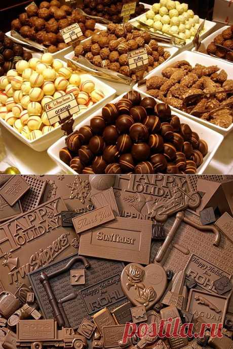 Музеи шоколада / Туристический спутник