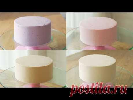 Взбитые сливки для тортов (Черника, Малина, Дальгона, Карамель)