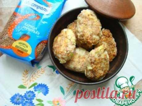 Котлеты гречневые с капустой - кулинарный рецепт