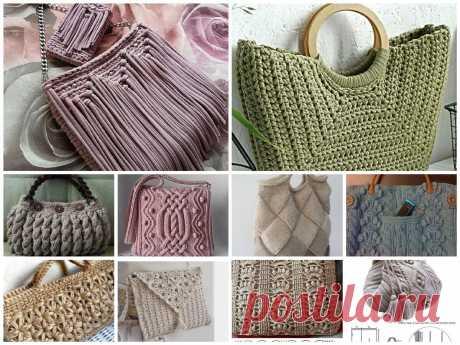 Что связать? Идеи летних сумок | Mariya Gavrikova | Яндекс Дзен