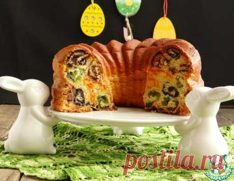 """Пирог """"Разноцветные кружева"""" – кулинарный рецепт"""