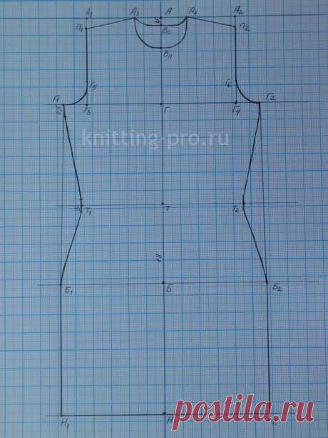 La construcción de los dibujos - knitting-pro.ru - del abecé a la maestría