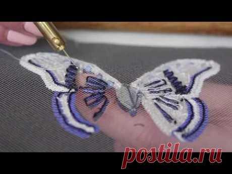 "Презентация ""Тамбурная вышивка люневильским крючком"" / ""Tambour embroidery Luneville hook"""