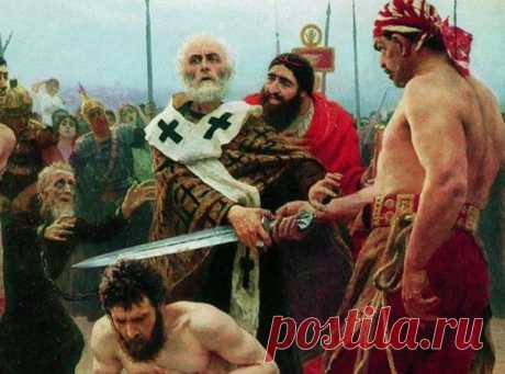 When the prelate Nikolay grabs a sword the Prelate Nikolay was the first Saint about whom I heard in the childhood. There was time when I not strongly understood, than the Saint differs from God. Most likely, it was explained by total absence increased in it...